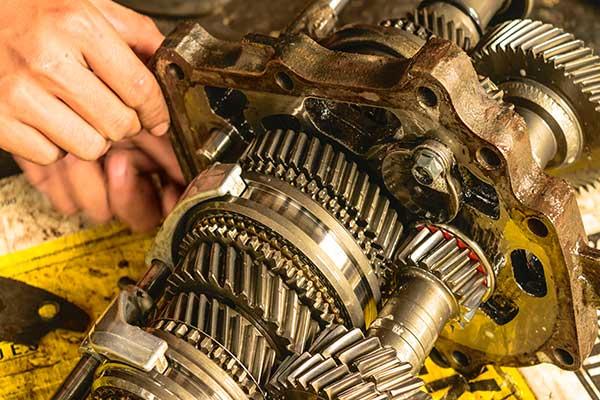 Getriebe-Auto-Einzelteile