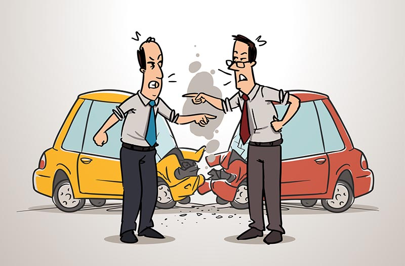 Auto-Unfall-Bußgeldkatalog