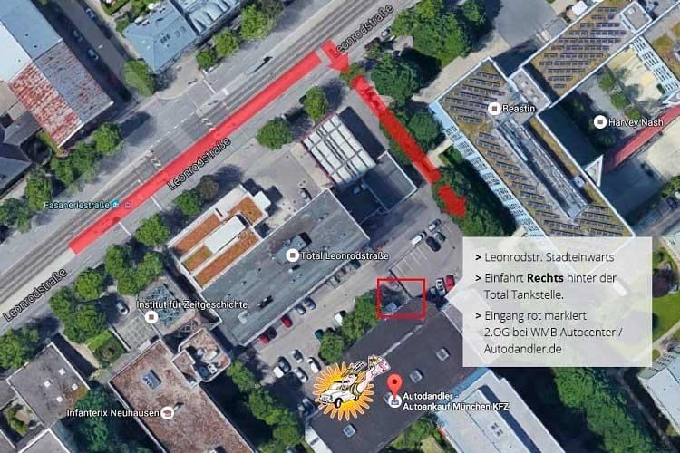 Lageplan-Autodandler-in-München-zur-Fahrzeugbewertung
